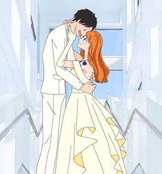 Nami One Piece, One Piece Manga, Luffy X Nami, One Piece Fanart, Dragon Ball, Anime, Fan Art, Sailing, Beautiful
