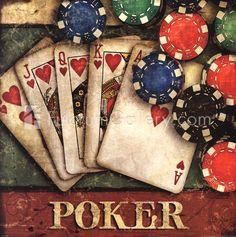 Poker by Mollie B.