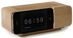 sveglie in legno per iPhone