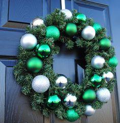 Christmas Wreath Holiday Wreath Xmas Wreath by Casabellawreaths, $50.00