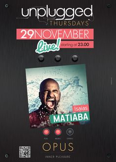 Isaias Matiaba Live @ Opus