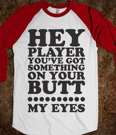 Too funny (Baseball Shirt)