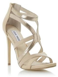 STEVE MADDEN STELLA - NUDE Strappy High #Heels