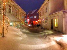 Mandal med snø