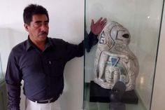 Experts have unearthed a mysterious statue belonging to the ancient Maya civilization. The curious artifact depicts 'an alien humanoid' holding a human head. The statue consists of a snake that seems…