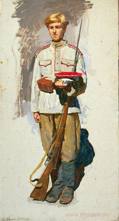 White Army trooper