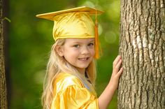 preschool graduation portrait idea