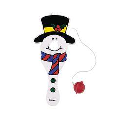 Color Your Own Snowman Catch Games - OrientalTrading.com