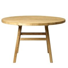 Bloomingville Round Elm Wood Table