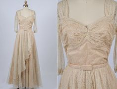 1950s Frank Starr gown by shopKLAD