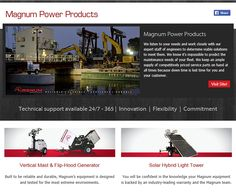 Magnum Power Products introduce the Solar Hybrid Light Tower & The Vertical Mast!