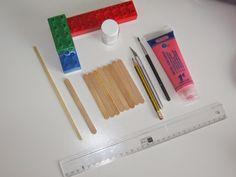Yo y mis cosas... por Noelia Onate.: Reciclando palitos de helado. Hace un par de seman...