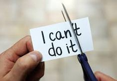 Photo about Man using scissors to remove the word can t to read I can do it concept for self belief, positive attitude and motivation. Image of incentive, adversity, impossible - 65711606 What Is Positive, Staying Positive, Positive Attitude, Positive Things, Positive Thoughts, Positive Vibes, Positive Phrases, Positive Images, Positive People