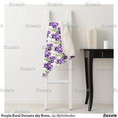 Purple floral Durant
