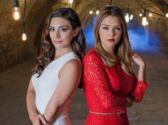 Virginia y Verónica se pelean a cachetadas, Martín (Iván Sánchez) llegará a separarlas, pero Virginia miente diciendo que su prima la empezó a agredir.