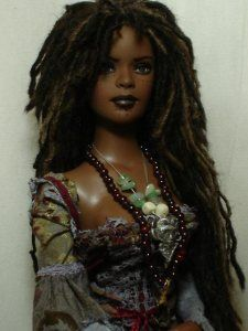 This Barbie is beautiful! Wish she was out when I was growing up.