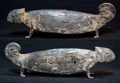 Bronze Dogon Chameleon by Forrest Buckman