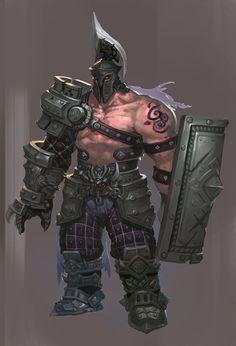 ArtStation - warrior, jokerrr z