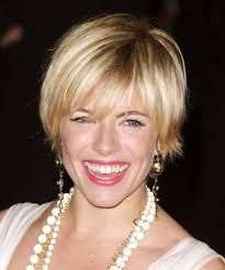 Image result for sienna miller short hair