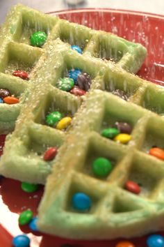 looking for an easy christmas morning breakfast make a new holiday memory this year with christmas tree waffles vanilla extract adds delicious warmt Christmas Snacks, Christmas Brunch, Xmas Food, Christmas Cooking, Holiday Treats, Holiday Recipes, Christmas Parties, Christmas Tree Food, Holiday Foods
