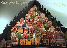 GingerVillaggio: Christmas Eve | The Cookie Architect & Friends