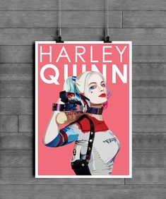 This unique DC Harley Quinn Poster Print is sure to make a statement. Based on the blockbuster superhero franchise this poster impresses and bring the wow factor to any room. This would be the perfect gift for any movie or superhero fan.    A range of sizes are available, if you require a custom print please get in contact with me.    A4 - 21 cm x 29.7 cm Smooth 180 gsm Art Paper   A3 – 29.7 cm x 42 cm Smooth 180 gsm Art Paper    A2 – 42 cm x 59.4 cm Satin 190gsm Poster Paper All Poster, Poster Prints, Movie Posters, Vivid Colors, Colours, Crisp Image, Minimalist Poster, Wow Products, Movie Characters