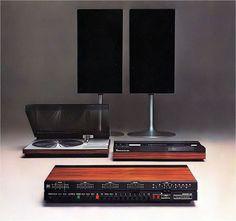 Beosystem 4000, Jacob Jensen design. 1972