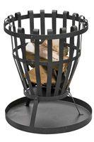 BASILICA Outdoor Steel Fire Basket