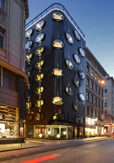 24 Buildings With Modern And Impressive Architecture - Hotel Topazz Vienna