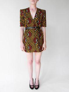 nigerian eyes dress. love this print
