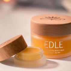 """Ren Lykke on Instagram: """"Dagen skal nytes og vi starter med litt hudpleie💛 EDLE Skjønnhetsbalsam gir næring og fukter huden i dybden. Balsamen er super som…"""" Beauty Balm, Dry Skin, The Balm"""