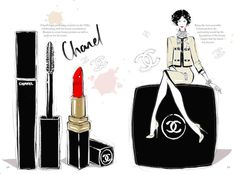Choosing the right lipstick for you is essential. Read my blog to get great tips!! Picture by Megan Hess Illustrations.