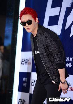 Kim Junsu at 'Tazza 2: High Rollers' VIP Premiere 140825