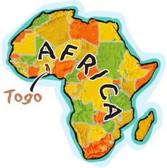 Souvenir of Togo #togo #lome #africa #afrique #travel #people