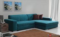 Rozkladacia rohová sedacia súprava Celeste, úložný priestor #couch #sofa #divan #settee