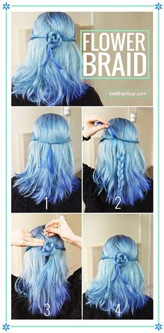Awesome!Making my hair like blue rose!Learn more in the besthairbuy