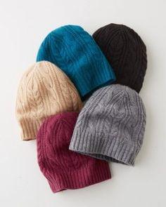2667f595898 Cashmere Cabled Hat Cashmere Hat