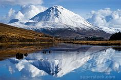 Errigal Mountain in Donegal, Ireland