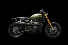 This heavily upgraded 2014 Triumph Scrambler prowls the streets of Zürich—and pumps out an extraordinary 95hp. Power junkies, step this way.