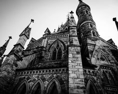 8x10 Black and White Print Part Of Ottawa's by PelliculArt on Etsy