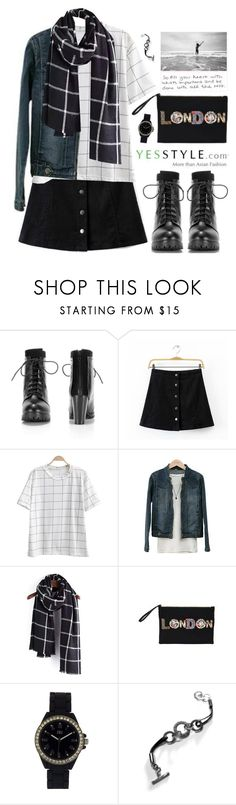 """""""Cyber Monday Sale @ yesstyle"""" by scarlett-morwenna ❤ liked on Polyvore featuring YIYA, Baimomo, PEPER, DaBaGirl, N:U - Not the Usual and Kamsmak"""