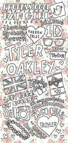 Tyler Oakley Collage