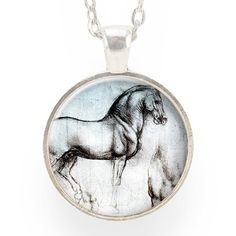 Horse Necklace, Sketch by Leonardo da Vinci – CellsDividing