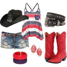Patriotic Cowgirl! WANTTTT