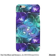 Om I See Blues and Greens #iPhone 6 Plus Case