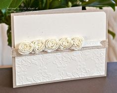 Stampin' Up - coming up roses!