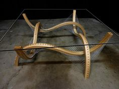 Robby Cuthbert's Furniture Designs: Suspending Disbelief - Core77  http://www.core77.com/posts/28090/Robby-Cuthberts-Furniture-Designs-Suspending-Disbelief