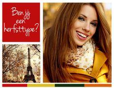 Ben jij een herfsttype? Bekijk onze adviespagina met tips over kleuren die passen bij verschillende huid- en haartinten... Zo kies jij de perfecte jurk bij jouw verschijning!