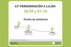 La provincia acompañará a los peregrinos en Luján