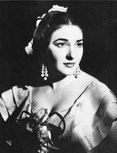 """María Calla en """"La traviata"""""""